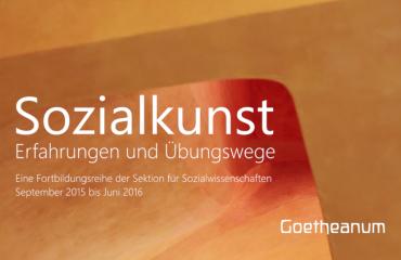 Sozialkunst – Seminare am Goetheanum